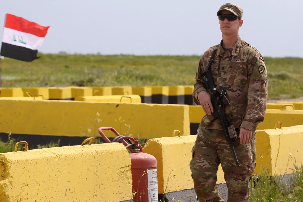 Drone attacks Iraq base hosting US troops ahead of Kadhemi-Biden meeting